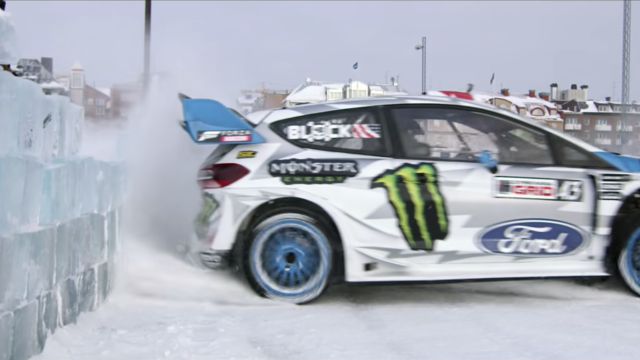 Ken Block GYMKHANA Ten